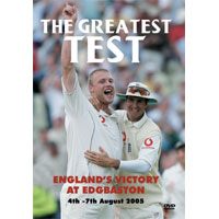 Pre-order: The Greatest Test - Edgbaston 2005 DVD