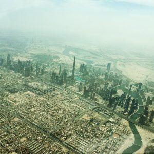 Dubai from the air – rascott com